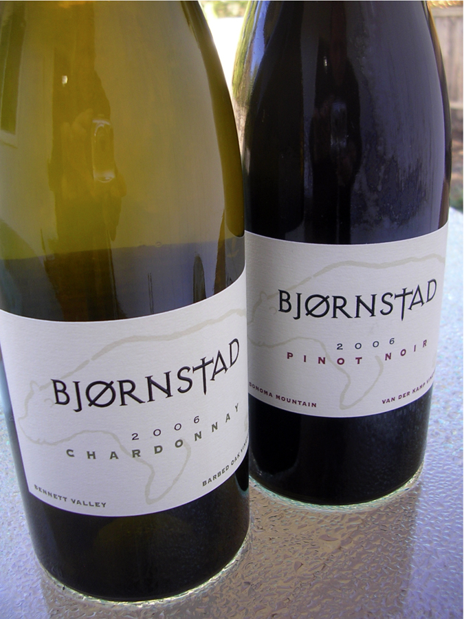 Bjornstad Cellars Wines